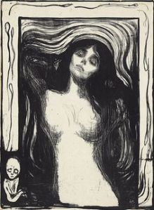 Munch, Madonna (1895) Litografia